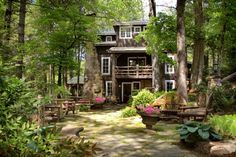12 Little Known Inns In Georgia That Offer An Unforgettable Overnight Stay 8. The Lake Rabun Hotel— 35 Andrea Ln, Lakemont, GA 30552