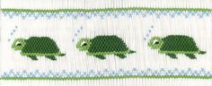 turtle smocking plate for my green pique fabric- fall longall???