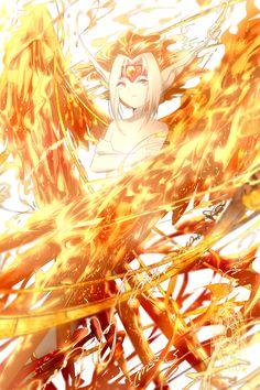「the firey.」/「winni」[pixiv]