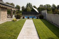 la #piscina: un vero paradiso averla a #casa! E a #pavimento il nostro #PavimentoStampato!