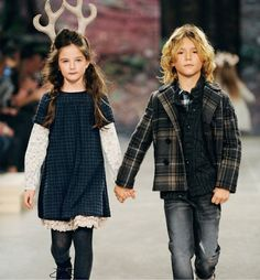 """""""I think I like this guy....So glad they asked us to hold hands...yay!!""""  ... #kids #fashion #bambini www.morseandnobel.com"""