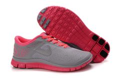fa8f6e8492fb Shop Womens Nike Free Siren Red Reflect Silver Wolf Grey Running Shoes New  2013 Sneakers