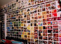 Postcard Wall by ~ali-in-a-bubble on deviantART