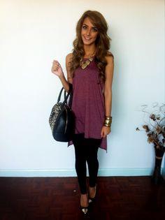 Christmas day outfit, new ALDO bag & caramel blonde hair ❤