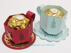 Anleitung für die Mini-Tasse als Geschenkverpackung
