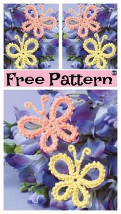 Watch The Video Splendid Crochet a Puff Flower Ideas. Phenomenal Crochet a Puff Flower Ideas. Crochet Butterfly Free Pattern, Crochet Puff Flower, Crochet Unicorn, Crochet Flower Patterns, Cute Crochet, Crochet Motif, Crochet Crafts, Easy Crochet, Crochet Flowers