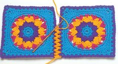 Transcendent Crochet a Solid Granny Square Ideas. Inconceivable Crochet a Solid Granny Square Ideas. Crochet Diy, Crochet Amigurumi, Crochet Motifs, Love Crochet, Crochet Crafts, Crochet Stitches, Crochet Hooks, Crochet Ideas, Knitting Projects