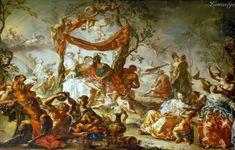 Иоганн Георг Платцер (Johann Georg Platzer, 1704-1761, Austria) - Marriage of Mars and Venus