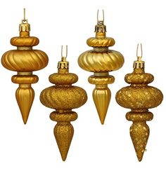 Shop 19486 - Antique Gold Finial Shiny Matte Glitter Sequin Christmas Tree Ornament pack) - up to off, discover more Christmas Pendants Drops & Finials Ornaments enjoy big discount and fast shipping. Plastic Christmas Tree, Wooden Christmas Ornaments, Christmas Store, Wood Ornaments, Hanging Ornaments, Christmas Fun, Ornament Hooks, Christmas Central, Ball Ornaments