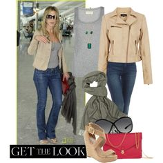 Get the look: Jennifer Aniston by julianne28 on Polyvore