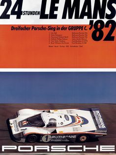 Porsche - Le Mans 82, via Andrei Ciolan