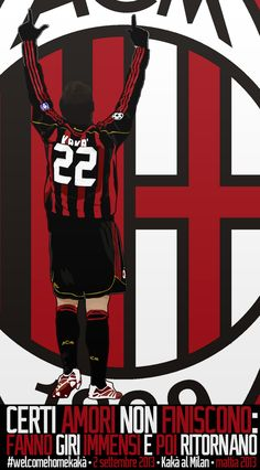 Ricardo Kaka - Welcome to A.C. Milan, welcome home by TiaSevenGFX