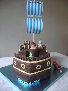 Jake & the Neverland Pirates Cake  Cake by NooMoo