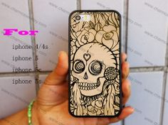 Skull iphone caseiphone 5s caseiphone 5c caseiphone by charmcase, $6.99