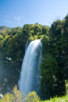 Cascata delle Marmore - Umbria - Italia  Marmore Falls - Umbria - Italy