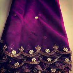 ideas clothes design studio colour for 2019 Embroidery Suits Punjabi, Embroidery Suits Design, Embroidery Dress, Zardosi Embroidery, Hand Embroidery, Half Saree Designs, Silk Saree Blouse Designs, Bridal Blouse Designs, Simple Blouse Designs