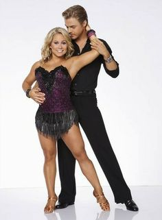 Derek Hough and Shawn Johnson - #DWTS Season 15 Title Shoot Pictures - All Star Season (September 2012)