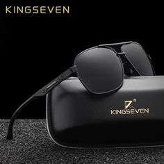 5b6a079ff4 KINGSEVEN New Aluminum Brand New Polarized Sunglasses Men Fashion Sun  Glasses Travel Driving Male Eyewear Oculos