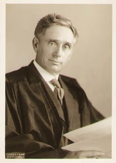Louis D. Brandeis - First Jewish Supreme Court Justice. U of L Law school named after him