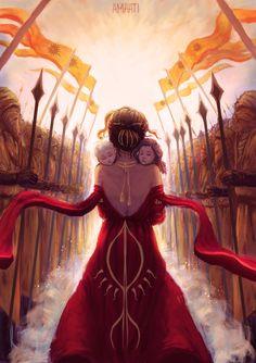 The Dornishmen burn to avenge Elia and her children.