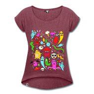 Koszulki ~ Koszulka damska z lekko podwiniętymi rękawami ~ Numer produktu 30103561