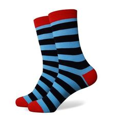 Men Bold Stripes Fashion Socks - 21 StylesItem Type: SockGender: MenSock Type: CasualMaterial: Cotton, Spandex, NylonThickness: Standardsize: US size Patterned Socks, Striped Socks, Mens Designer Socks, Brown Socks, Custom Socks, Mens Fashion Week, Fashion Menswear, Style Fashion, Knitting Socks