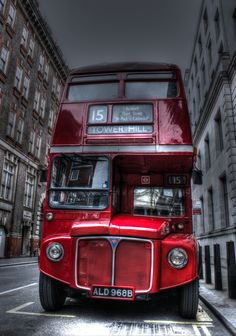 London Bus - by Francisco Mula on 500px.