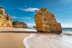 Marinha Beach in Algarve, Portugal  considered one of the Best beaches in Europe - Marinha beach in Algarve - European Best Destinations 2015