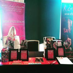 All ready for #essexauthorextravaganza! #EAE #authorsigning