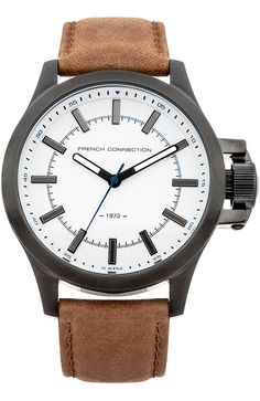 French Connection, Omega Watch, Watches, Leather, Accessories, Collection, Wristwatches, Clocks, Jewelry Accessories