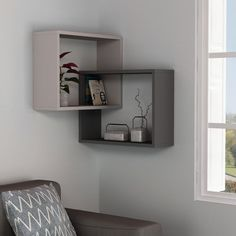 wall shelves for living room wooden wall shelves wall shelf design modern wall shelves Tv Wall Design, Wall Shelves Design, Corner Shelves, Wall Shelving, Wooden Wall Shelves, Wall Shelves For Books, Corner Wall Decor, Grey Shelves, Bookshelf Design