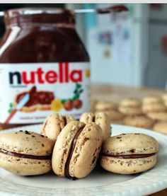 Coockies with nutella