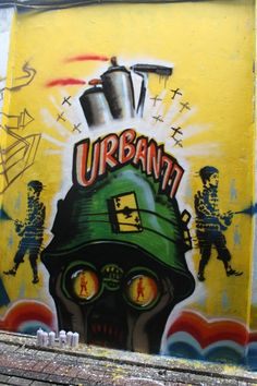 Mural, Graffity and Stencil in Surabaya City