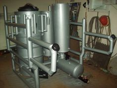 Featured Projects / Al Frick's Slide In Gasifier Wood Gasifier, Small Trailer, Alternative Energy, Radiators, Grid, Home Appliances, Mansions, Luxury, Projects