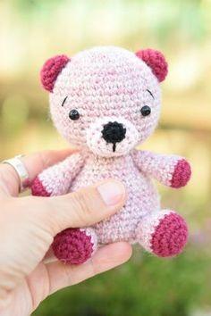 amigurumi free teddy bear pattern  (7)