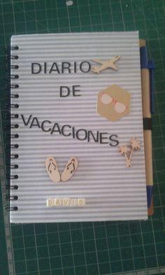 Diario vacaciones scrap