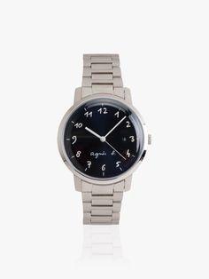 montre homme cadran bleu marine bracelet acier | agnès b. Bleu Marine, Omega Watch, Rolex Watches, Bracelet Watch, Bracelets, Steel, Accessories, Bracelet, Arm Bracelets
