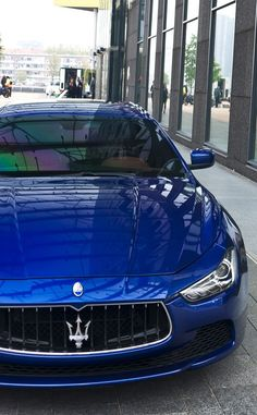 Maserati Ghibli a automobile that makes you dream Maserati Ghibli, Ferrari, Sexy Cars, Hot Cars, Car Best, Automobile, Maserati Granturismo, Fancy Cars, Nice Cars