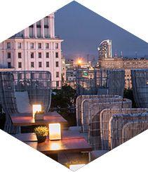 El hotel Mandarin Oriental abre para todos el Terrat : Passeig de Gràcia