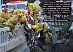 Career or Volunteer.. all Professional. #firefighters #firedept #service