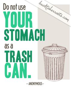 Eat clean!!