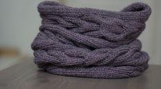 Dossier Snood, écharpe tube : DIY tricot