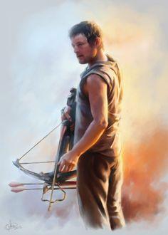 Daryl Dixon by Syllirium.deviantart.com on @deviantART