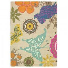 Xian Butterfly Designer Rug