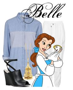 """Belle"" by blueangel16-001 ❤ liked on Polyvore featuring Topshop and Lily Blanche"
