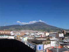Volcano Galeras, Pasto, Colombia
