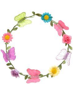 Diadema de flores Monsoon Niños