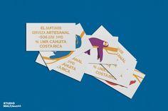 Brand identity for El Santuario Beer. Andrew Malynowsky - Freelance Graphic Designer - Melbourne, VIC andrewmalynowsky.com Cahuita, Brand Identity, Branding, Freelance Graphic Design, Ux Design, Gold Coast, Business Card Design, Stationery, Studio