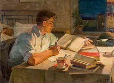 Баликов Юрий Евдокимович (Украина, 1924) «Заочник» 1960-е