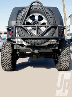 Jeep Wrangler bumpers | Jeep Wrangler Bumpers And Wheel Carriers Evo Photo 8